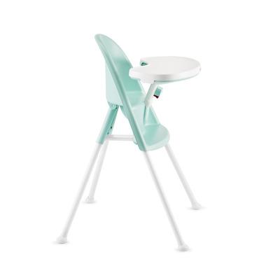 Krzesełko do karmienia turkusowe
