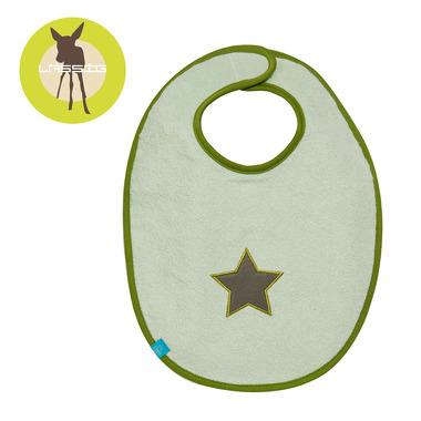 Śliniak bawełniany wodoodporny 6-24m Starlight olive
