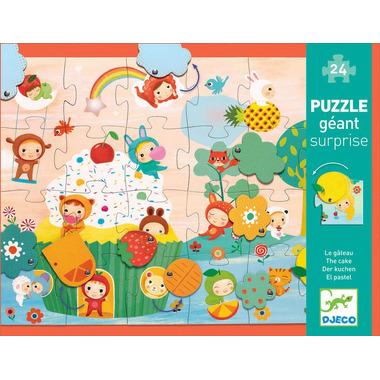 Puzzle z niespodzianką Djeco