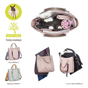 Lassig, green Label Torba z Akcesoriami Mix 'n Match Rose