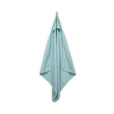 Jollein, mięciutki ręcznik  z kapturem 75x75cm Miętowy