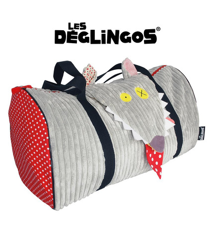 Les Deglingos, torba Podróżna Wilk BigBos