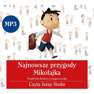 CD MP3 NAJNOWSZE PRZYGODY MIKOŁAJKA, RENÉ GOSCINNY