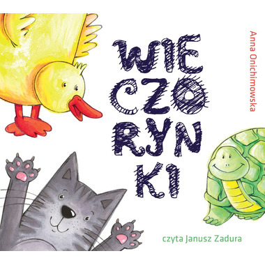 CD MP3 WIECZORYNKI, ANNA ONICHIMOWSKA