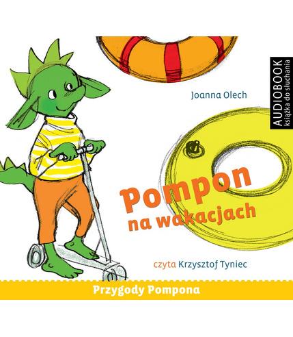 CD MP3 POMPON NA WAKACJACH PRZYGODY POMPONA 3, JOANNA OLECH