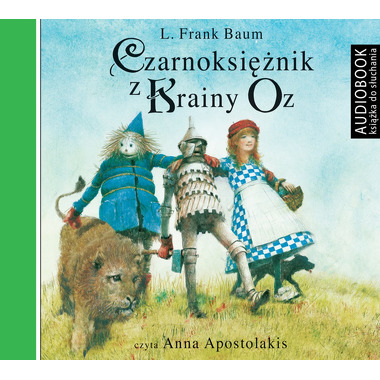 CD MP3 CZARNOKSIĘŻNIK Z KRAINY OZ, L. FRANK BAUM