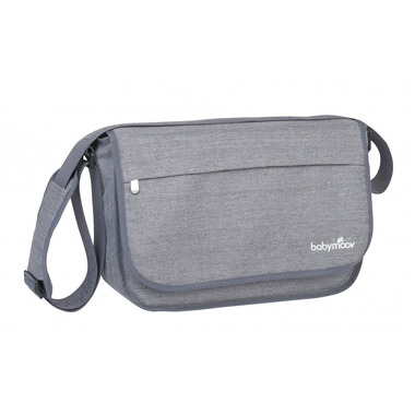 Babymoov Torba messenger Heather Grey