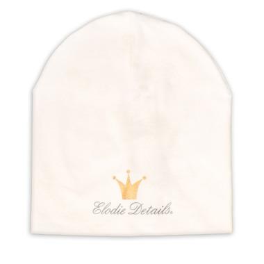 Elodie Details, czapka Vanilla White, 0-6 m-cy