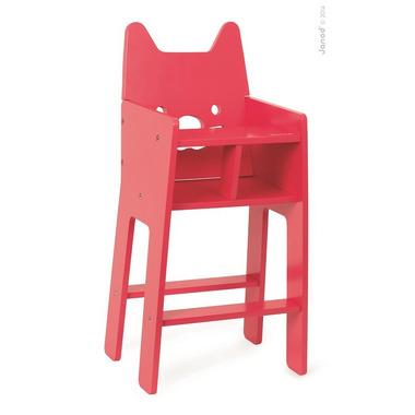 Janod, krzesełko dla lalek Babycat,