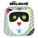 Les Deglingos, talerz z melaminy Kot Charlos