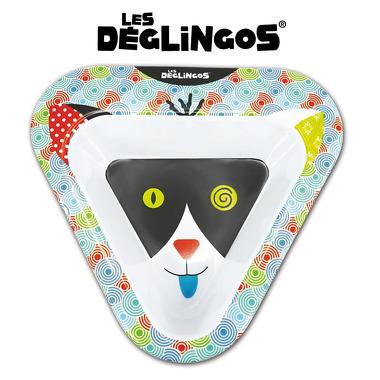 Les Deglingos, miseczka z melaminy Kot Charlos