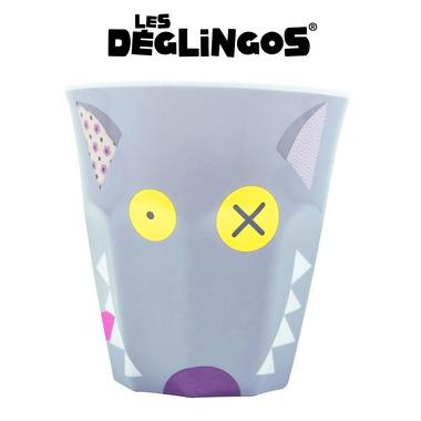 Les Deglingos, kubek z melaminy Wilk Bigbos