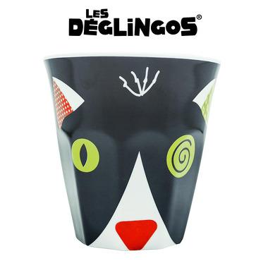 Les Deglingos, kubek z melaminy Kot Charlos
