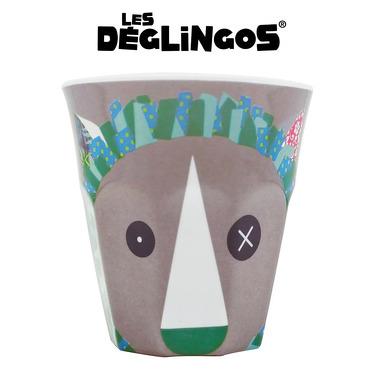 Les Deglingos, kubek z melaminy Lew Jelekros