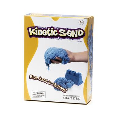 Kinetic Sand, ruchomy Piasek 2,27 kg NIEBIESKI
