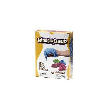 Kinetic Sand, ruchomy Piasek 3 kg Czerwony Niebieski Zielony