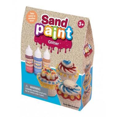 Kinetic Sand, farba GLITTER 3 kolory