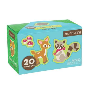 Mudpuppy, tekturowe magnesy - Leśne zwierzęta