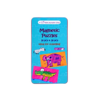 The Purple Cow Puzzle magnetyczne