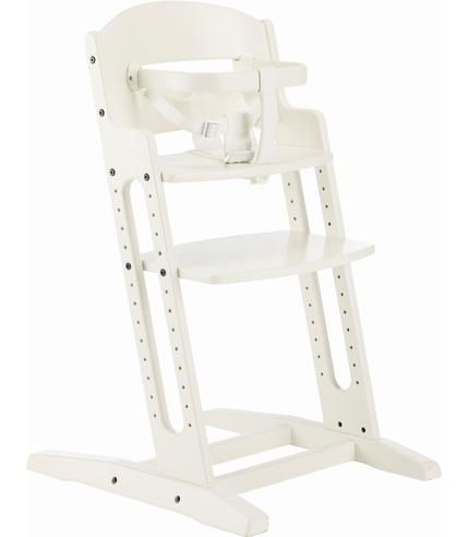 Krzesło do karmienia Baby Dan DANCHAIR białe