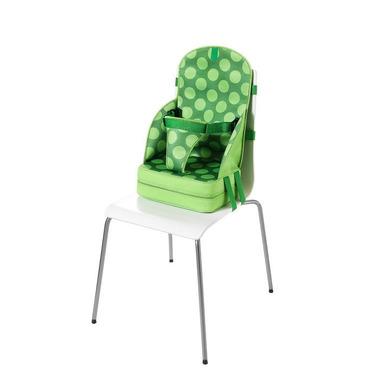 Przenośny fotelik dla dziecka z neoprenu (zielony w kropki)