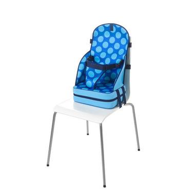 Przenośny fotelik dla dziecka z neoprenu (niebieski w kropki)