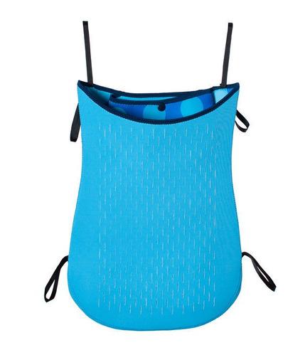 Torba na wózek z neoprenu (niebieska w kropki)