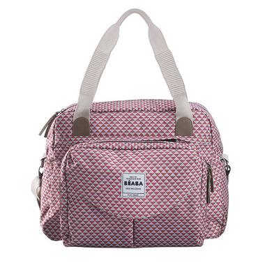 Beaba, torba dla mamy Geneva PLAY PRINT marsala