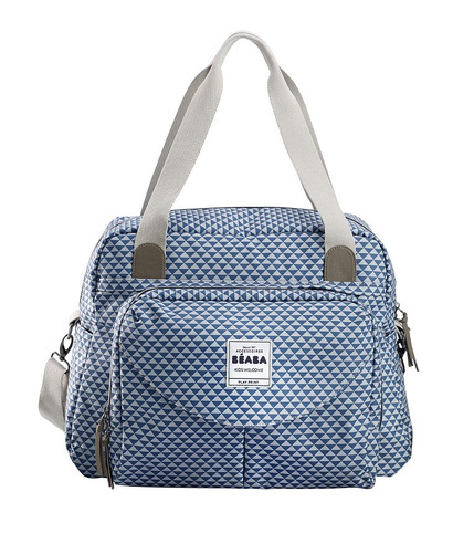 Beaba, torba dla mamy Geneva PLAY PRINT blue
