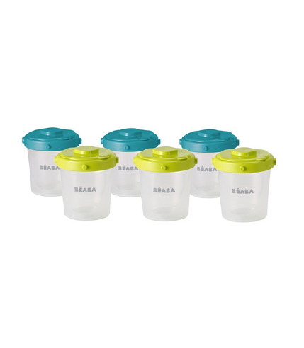 Beaba, zestaw słoiczków Clip 6 szt. 200 ml