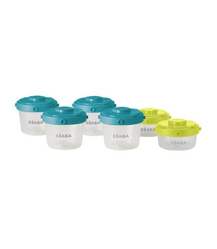 Beaba, zestaw słoiczków Clip 6 szt. 60 ml i 120 ml