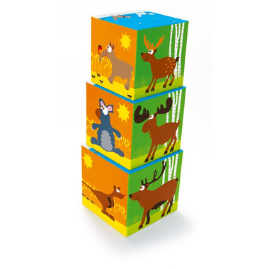 Piramida edukacyjna Zwierzęta Świata (10 elementów)