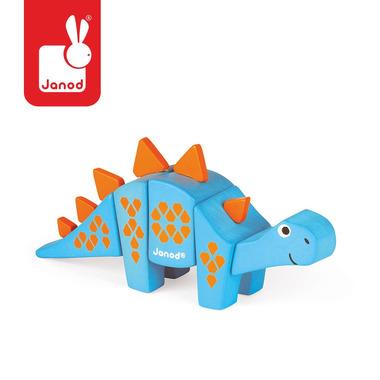 Janod, stegosaurus drewniany do złożenia