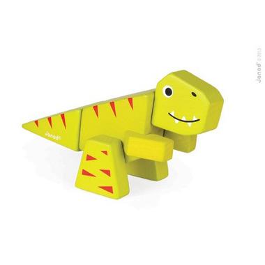 Janod, tyranosaurus drewniany do złożenia