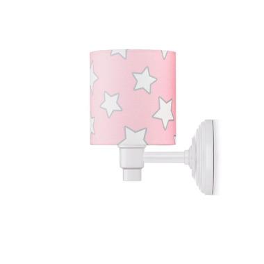 KINKIET PINK STARS (z mocowaniem do oświetlenia ogólnego)