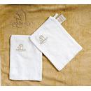 Ręcznik w formie fartucha Cuddledry Baby różowy