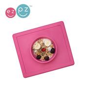 EZPZ, silikonowa miseczka z podkładką 2w1 Happy Bowl różowa