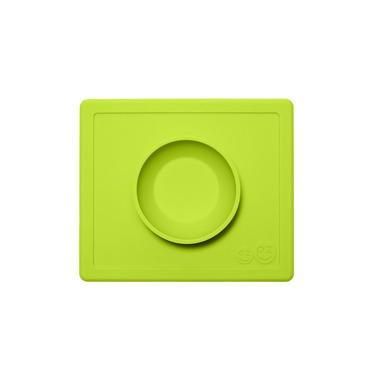 EZPZ, silikonowa miseczka z podkładką 2w1 Happy Bowl zielona