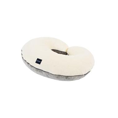 Poofi, poduszka do karmienia kremowo-szara