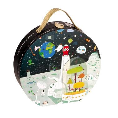 Janod, puzzle Kosmos w walizce