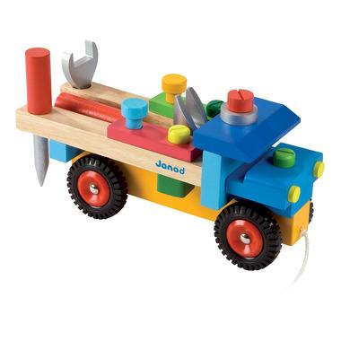 Janod, samochód z narzędziami