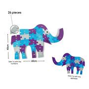 Puzzle Słoń 1-26