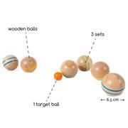 Boccia/Boule/Kule drewniane