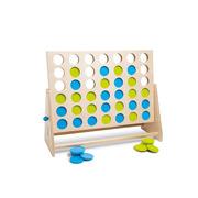 Gra 4 w rzędzie (niebiesko-zielone) XL