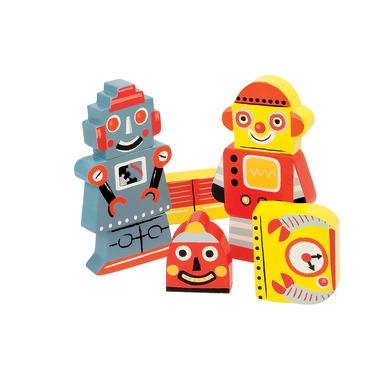 Janod, układanka 3D roboty