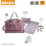Beaba, torba dla mamy duża Amsterdam SMART COLORS taupe/black