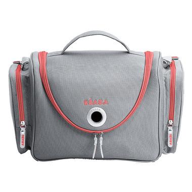 Beaba, kuferek na kosmetyki Vanity grey/coral