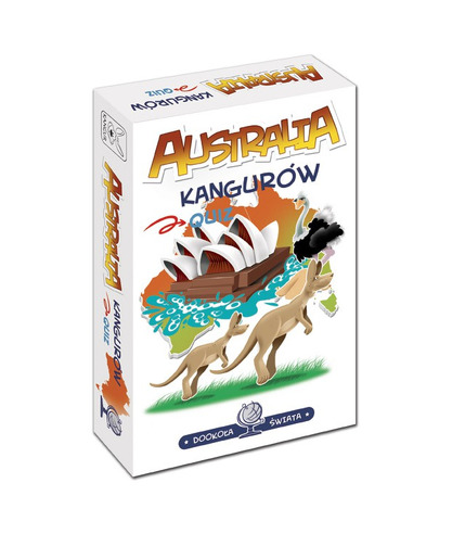 GRA AUSTRALIA KANGURÓW DOOKOŁA ŚWIATA