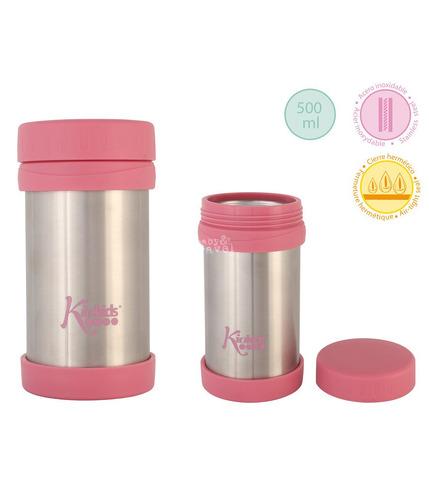 Kiokids, Różowy termos na jedzenie 500 ml