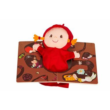 Lilliputiens, czerwony Kapturek książka z pacynką